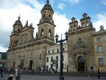Iglesia vieja en la ciudad Foto de archivo libre de regalías