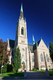 Iglesia vieja en la ciudad de Estocolmo fotos de archivo