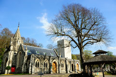 Iglesia vieja en Londres, Inglaterra, Reino Unido Fotos de archivo