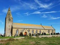 Iglesia vieja en Northumberland foto de archivo libre de regalías