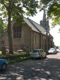 Iglesia vieja en Northumberland Inglaterra imágenes de archivo libres de regalías