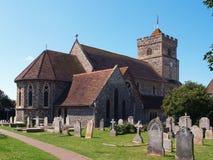 Iglesia vieja en Sutton Fotos de archivo libres de regalías