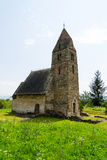 Iglesia vieja hecha de piedras Imagen de archivo