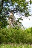 Iglesia vieja hecha de piedras Foto de archivo libre de regalías