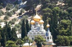 Iglesia vieja hermosa de Cristian en Phalestin fotos de archivo