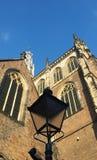 Iglesia vieja holandesa típica Fotografía de archivo libre de regalías