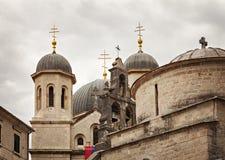 Iglesia vieja Kotor Foto de archivo