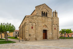 Iglesia vieja San Simplicio en Olbia Foto de archivo libre de regalías