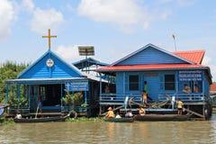 Iglesia vietnamita flotante Foto de archivo libre de regalías