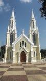 Iglesia Virgen del瓦尔 免版税图库摄影