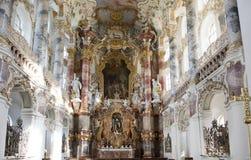 Iglesia Wies del patrimonio mundial Fotografía de archivo