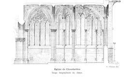 Iglesia y catedral ilustración del vector