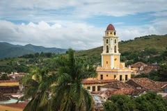 Iglesia y Convento de San Francisco em Trinidad Cuba Imagens de Stock
