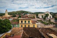 Iglesia y Convento de San Francisco in Trinidad Cuba Stock Photography