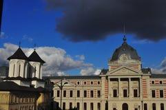 Iglesia y hospital del ea del› de ColÈ Fotografía de archivo