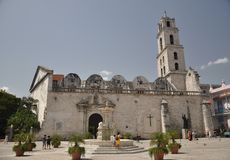 Iglesia y Monasterio de San Francisco de Asis стоковые фотографии rf
