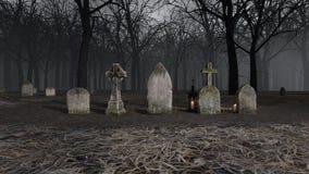 Iglesia y sepulcro stock de ilustración
