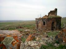 Iglesia Yeghvard de Zoravar Foto de archivo libre de regalías