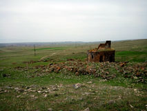 Iglesia Yeghvard de Zoravar Imagenes de archivo