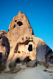 Iglesias antiguas en roca foto de archivo libre de regalías