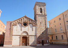 Sardinia.Iglesias Cathedral royalty free stock photography
