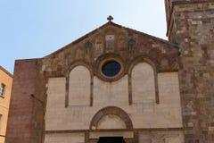 Iglesias Church Sardinia Royalty Free Stock Photography