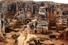 Iglesias de la roca Fotografía de archivo libre de regalías
