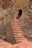Iglesias de las tallas de la roca de Lalibela en Etiopía foto de archivo libre de regalías