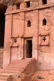 Iglesias de las tallas de la roca de Lalibela en Etiopía imagen de archivo libre de regalías