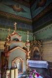 Iglesias de madera de la UNESCO en Polonia Fotos de archivo libres de regalías