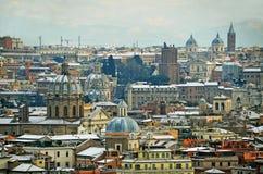 Iglesias de Roma Foto de archivo libre de regalías