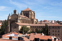 Iglesias de San Esteban, Salamanca Stock Photo