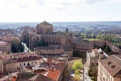 Iglesias de San Esteban, Salamanca Stock Images