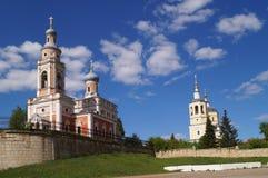 Iglesias de Serpukhov, Rusia foto de archivo libre de regalías
