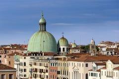 Iglesias de Venecia en Italia Imágenes de archivo libres de regalías