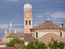 Iglesias de Venecia en Italia Fotos de archivo