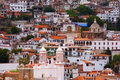 Iglesias en el taxco I Foto de archivo libre de regalías