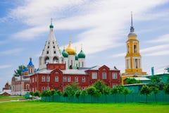 Iglesias en Kolomna Imágenes de archivo libres de regalías