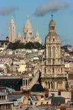Iglesias parisienses Foto de archivo libre de regalías