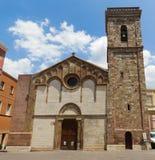 Iglesias Sardinia. Iglesias, old church in town, Sardinia, Italy Royalty Free Stock Image