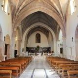 Iglesias Sardinia. Iglesias, old church in town, Sardinia, Italy Stock Images