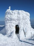 Igloo royalty free stock images