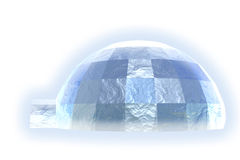 Igloo. Foto de Stock