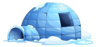 Igloo royalty free illustration