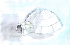 Igloo Royalty Free Stock Image