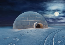 Igloo Royalty Free Stock Photos