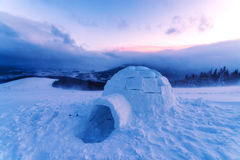 igloo Fotografie Stock