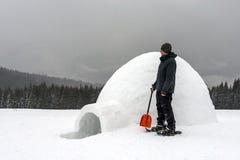 igloo стоковое изображение
