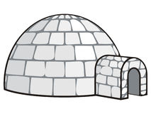 Igloo Foto de Stock