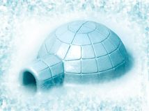 Igloo Royalty Free Stock Photo